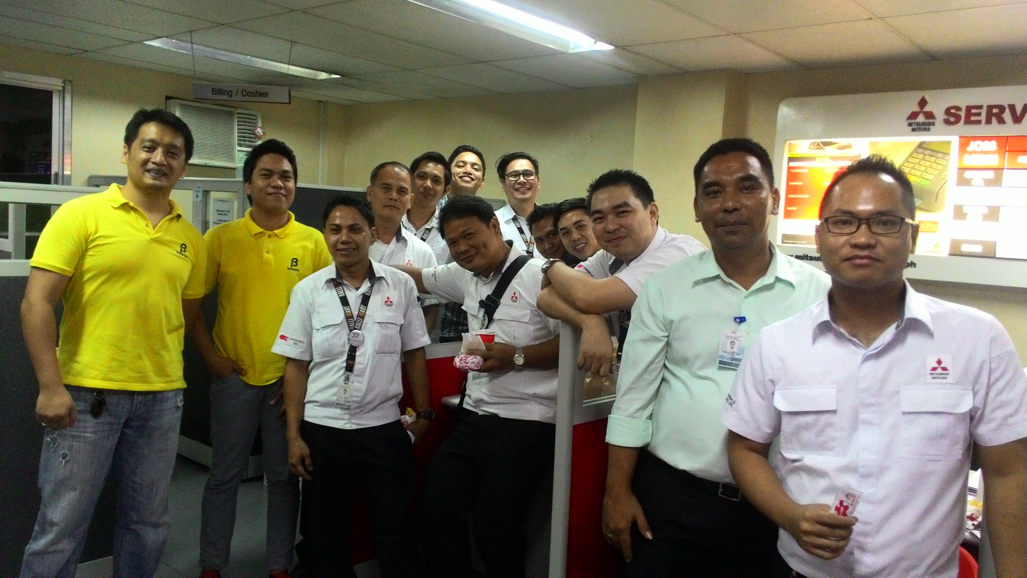 BMWare with Mitsubishi Pampanga Staff