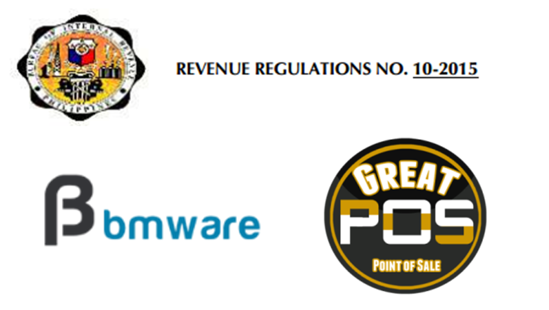 BMWare is now a compliant on the BIR Regulation 10-2015