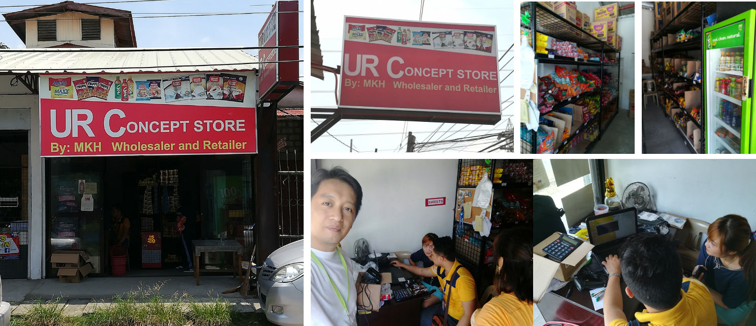 GreatPOS Installation & Training at MKH Wholesaler Retailer Magalang Pampanga